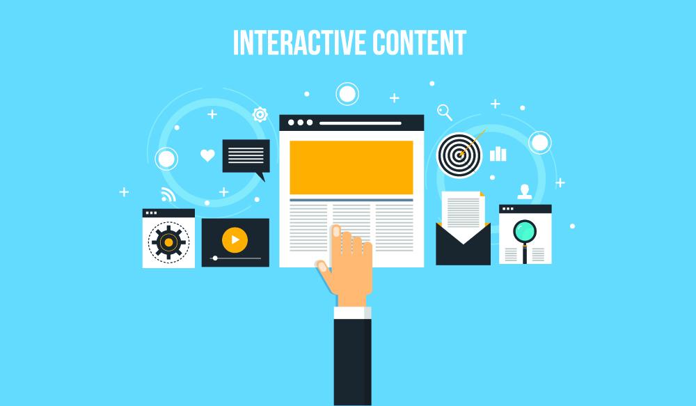 contenu interactif